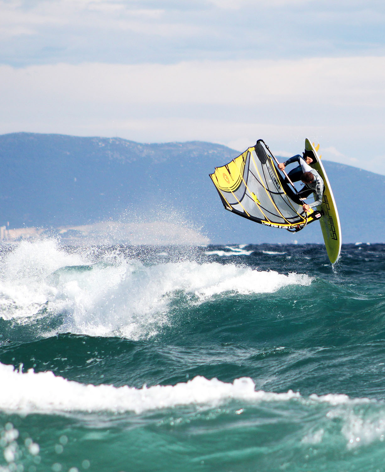 fazana windsurfing lessions with professional surfer